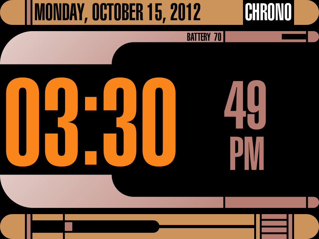 Clock Tacular Screenshot