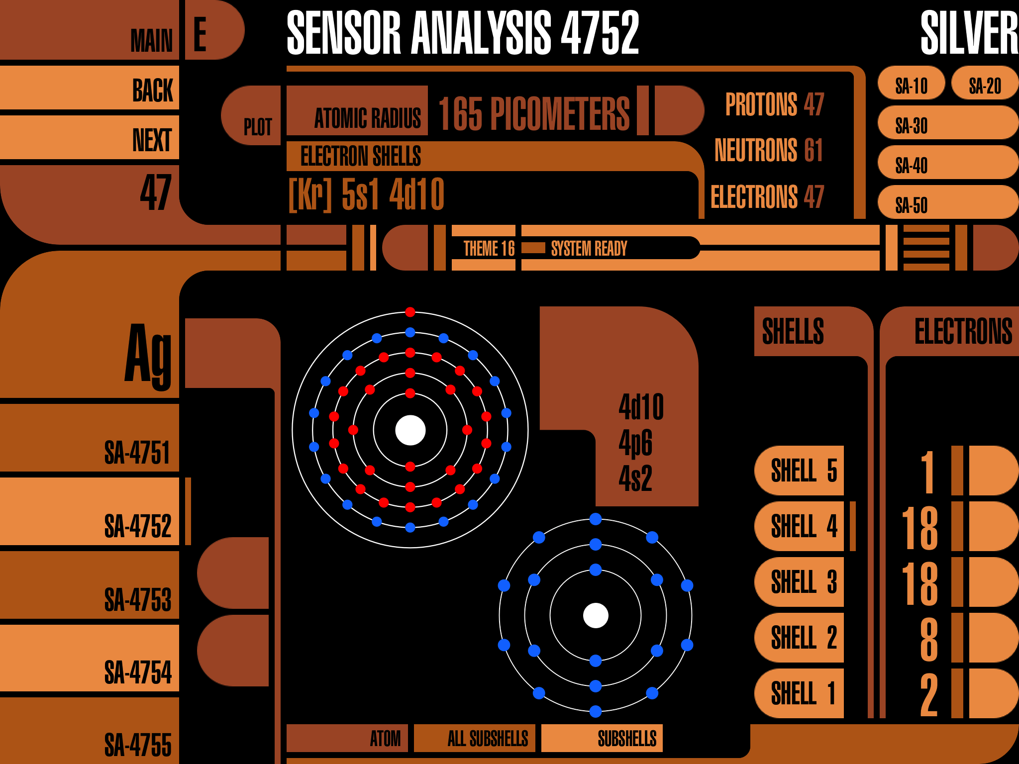 Element Trek Screenshot