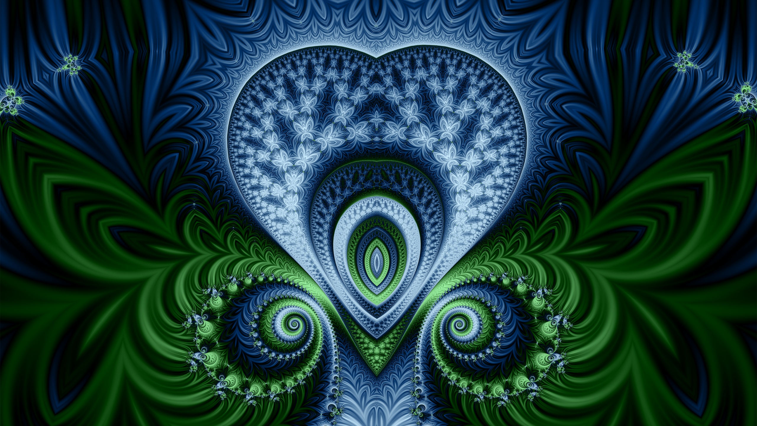 Druid Fractal wallpaper